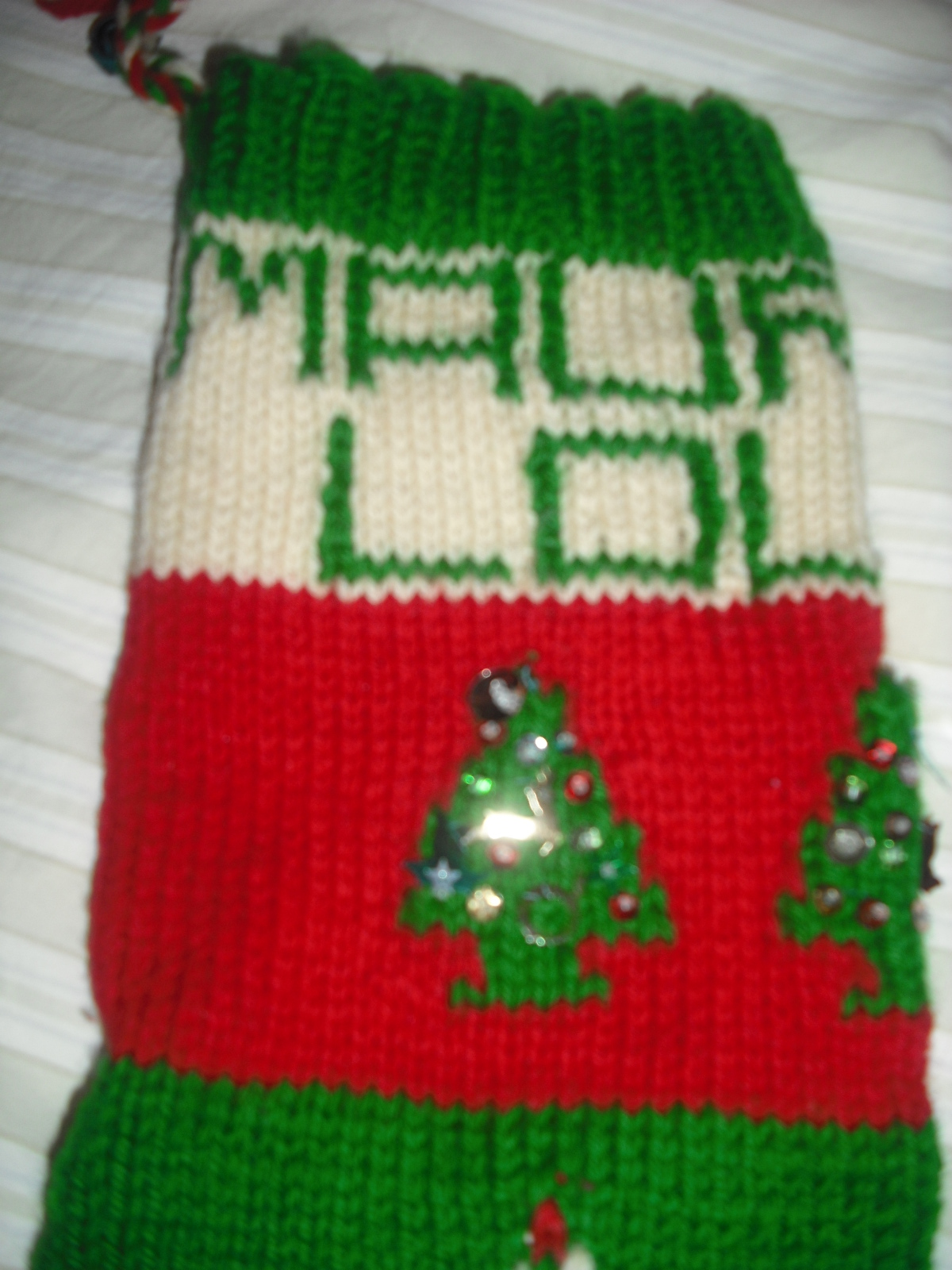 knitting Christmas stockings | NOTHING EVER HAPPENS ON MY BLOG